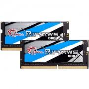 Memorie G.Skill Ripjaws DDR4 SO-DIMM 16GB (2x8GB) 2666MHz 1.20V CL18 Dual Channel Kit, F4-2666C18D-16GRS