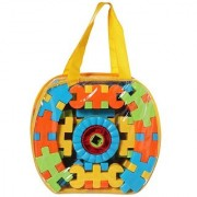Kids Kingdom Blocks 60 PC Block Set With Carry Bag