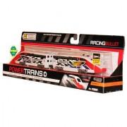 Jakks Pacific Year 2012 Power Trains Series 4 Battery Powered Motorized Engine Set - Team Phantom RACING BULLET with Wor