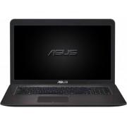 Laptop ASUS F756UX, Intel Core i7-6500U, 17.3'' FHD, 8GB, 2TB + 16GB SSD, GeForce GTX 950M 4GB, FreeDos, Dark Brown