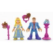 Precious Places Masquerade Ball Princess Sirina & Prince Mini Figure Set by Fisher-Price