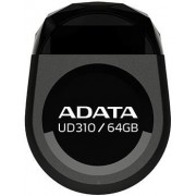Stick USB A-DATA UD310 64GB, Waterproof, Rezistent la socuri (Negru)