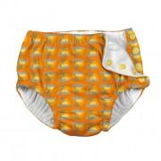 Scutec pentru înot și antrenament la oliţă Ultimate iPlay - Orange Sunset Geo, 12 luni
