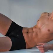 QZ Bodywear Herakles Low Cut Boxer Brief Underwear 311-9120441