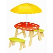 House Of Toys 404 502 - tavolo da picnic con fiore ombrello