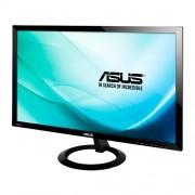ASUS monitor VX248H, 24' (61CM)Wide Screen (16:9) 1920x1080 non-glare 250 cd/㎡ 80,000,000:1 /1000:1 1ms(GTG)