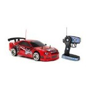 World Tech Toys West Coast Customs Street Tuned Drift Gt Rtr Rc Car, Red, 1:10 Scale