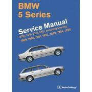BMW 5 Series (E34) Service Manual: 1989, 1990, 1991, 1992, 1993, 1994, 1995: 525i, 530i, 535i, 540i, Including Touring