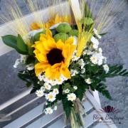 Buchet floarea soarelui BF028