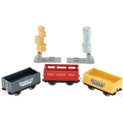 Fisher-Price Thomas The Train TrackMaster: Brendam Bay Cargo Delivery Cargo and Cars