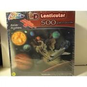 3D Lenticular 500 Piece Puzzle - Solar System