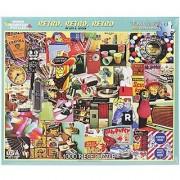 White Mountain Puzzles Retro Retro Retro - 1000 Piece Jigsaw Puzzle