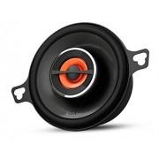 JBL GX302 Sistema de altavoces amplificados de automóvil (2-vías, 3-1/2 pulgadas, 75 W, pareja), color negro