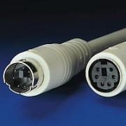 ROLINE 11.01.5690 :: PS/2 M/F, 10.0 м, ATX, монолитен, удължителен кабел