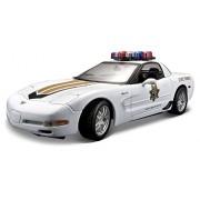 2001 Chevrolet Corvette Z06 [Maisto 31383], State Trooper, 1:18 Die Cast
