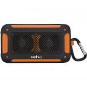 Boxa portabila Veho 360 grade Vecto Mini Wireless Water Resistant orange