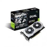 ASUS Dual series GeForce GTX 1050 OC edition 2GB GDDR5 Graphic Card
