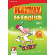 Playway to English Level 3 Flash Cards Pack: Level 3 by G