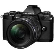 Aparat Foto Mirrorless Olympus E-M5II 1240 Kit, 16 MP, Filmare Full HD (Negru)