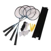 FUN START-Sada na badminton, 4 rakety,síť,míčky Spokey