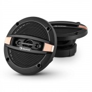 "Auna CS410 4-way difuzor coaxial 10 cm (4 "") 80W carbon de proiectare Bronze (TC12-CS410)"
