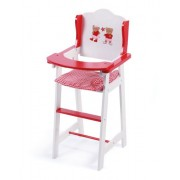Doll High Chair - Pattern Teddy Bear