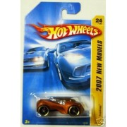 Mattel Hot Wheels 2007 First Edition New Models 1:64 Scale Dark Copper Supdogg Die Cast Car #24 #024 by Hot Wheels