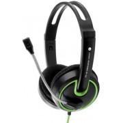 Casti Stereo cu microfon ESPERANZA EH153G (Negru/Verde)