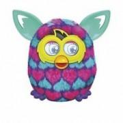 Hasbro Peluche animée Furby électronique - Boom Sweet - Coeurs Rose et Bleu