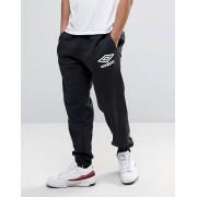 Umbro Спортивные штаны с манжетами Umbro - Черный