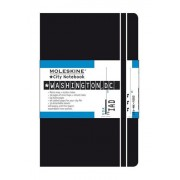 Moleskine S08084 - Cuaderno (9 cm, 14 cm) Negro - Washington, D. C. Moleskine City Notebook