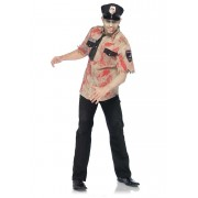 Leg Avenue 3 Piece Deputy Dead Costume Tan 83889