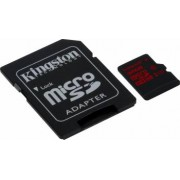 Card de Memorie Kingston microSDHC 32GB UHS-I U3 Clasa 10 cu adaptor