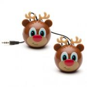 Boxa portabila KitSound MyDoodles Trendz Mini Buddy Reindeer