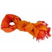 Pašmínová šála spirálky oranžová 180x70cm 8069-2 8069-2