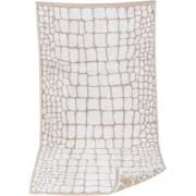 JOOP! Herren Handtuch 50 x 100 cm weiß gemustert