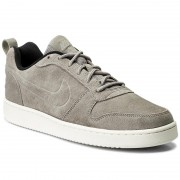 Обувки NIKE - Court Borough Loe Prem 844881 006 Cobblestone/Cobblestone/Black
