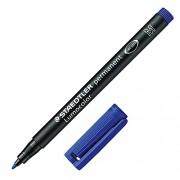 Staedtler 317 Lumocolor Universalstift permanent M 1,0 mm 10 Stück blau