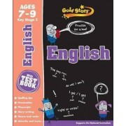 Gold Stars English Ages 7-9 Key Stage 2 by Parragon Books Ltd