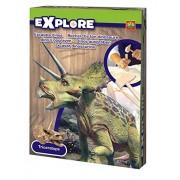 SES-Creative Gioco educativo scienza e natura, Cerca il tuo dinosauro