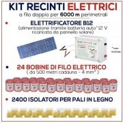 """""""Kit maniglia cancello recinto elettrico 5 metri"""""""