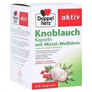 Doppelherz aktiv Knoblauch mit Mistel+Weißdorn Kapseln 270 Stück