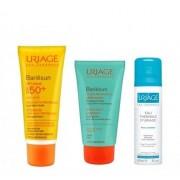 Uriage Bariesun SPF50 Crema, 50 ml.+(Bariesun Balsamo Reparador / Apres Soleil,50 ml. + Agua Termal, 50 ml. DE REGALO!) -