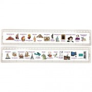 History Timeline 30cm Ruler by Green Board