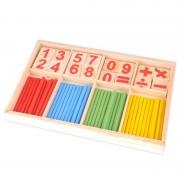 Jouets De Mathématiques Éducatifs Pour Enfants Jouets En Bois De Comptage Abacus Montessori Jouets Éducatifs En Bois Jouets Classiques Ensemble Cadeau