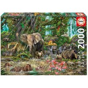 Educa African Jungle Puzzle, 2,000 Piece