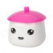 LB-801 mignon Mini USB Style Girl Propulsé humidificateur d'air portable - Rouge + blanc