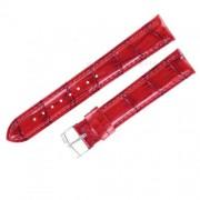 cinturino di ricambio morellato samba alligatore ecopelle rosso 18 mm