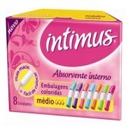 Absorvente Intimus Interno Médio c/ 08 Unidades