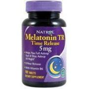 melatonine tr 5mg - hormone sommeil - 100 comprimés
